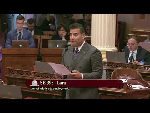 SB396 – Transgender Work Opportunity Act
