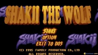 Shakii The Wolf gameplay (PC Game, 1995)
