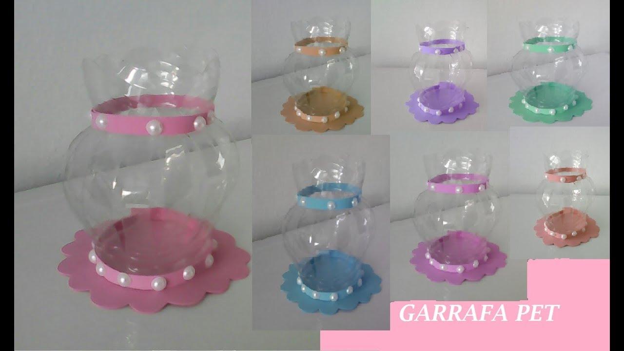 Papel Adesivo De Parede Cozinha ~ Vaso de garrafa pet ,Use como lembrancinha,reciclagem de garrafa pet ,#artesanato YouTube