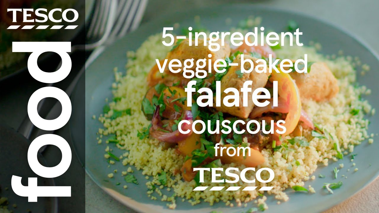 5 Ingredient Falafel With Spicy Tomato Sauce Tesco Food