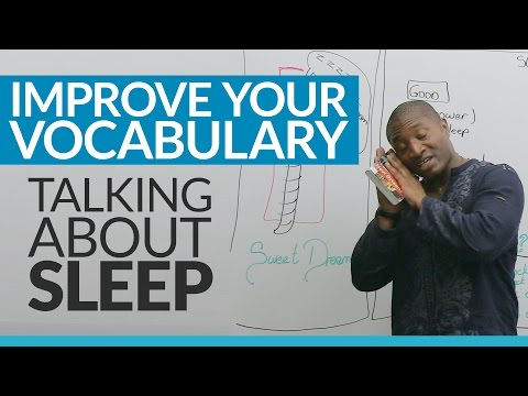 Talking about SLEEP in English