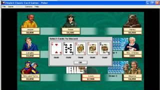 Hoyle Classic Card Games 1997 - Poker