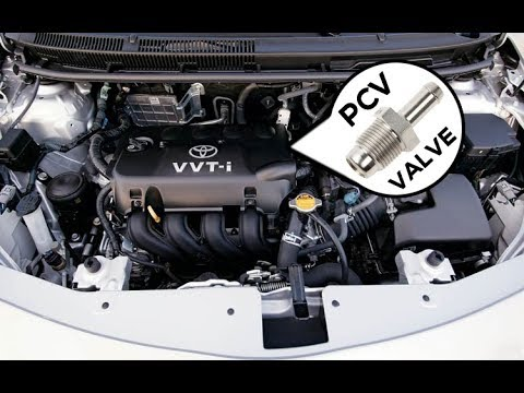 Toyota/Scion PCV Valve Replacement