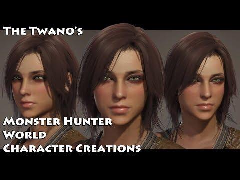 Monster Hunter World - Character Creation (Cute Female) #51