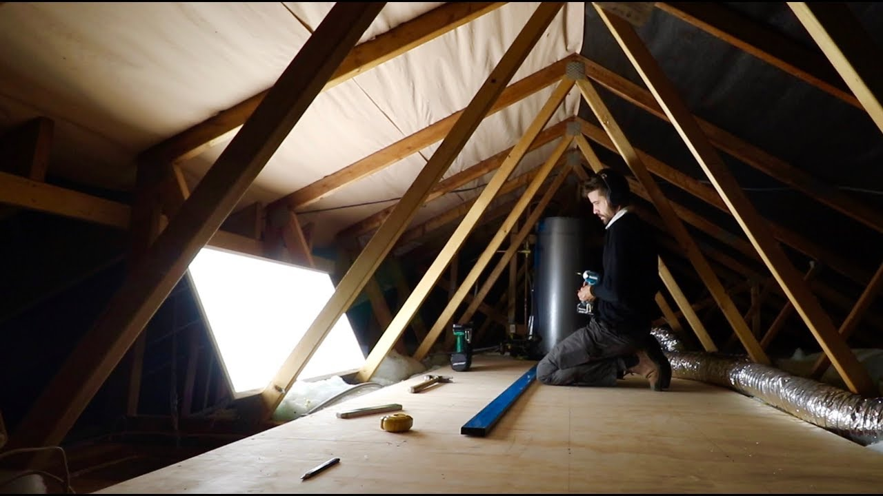 Attic Storage How To Build It You