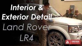 Interior & Exterior Detail -- Land Rover LR4