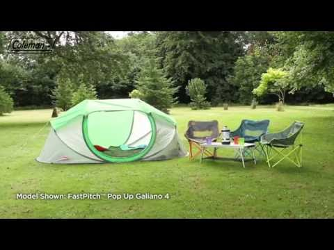 & Coleman® FastPitch™ Pop Up - Galiano 2 Instant tent - EN - YouTube