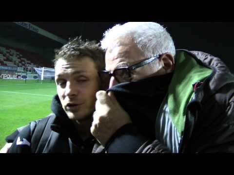 Ray Kelvin and Jamie Cureton Post Match Interview