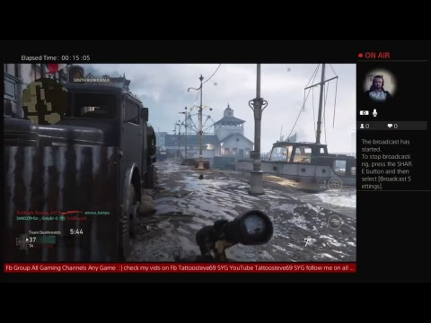 WWII DLC Maps Core TDM Live broadcast Come watch and chat join me too