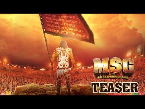 MSG - The Messenger | Teaser Trailer (60 sec) | Saint Gurmeet Ram Rahim  Singh Ji Insan