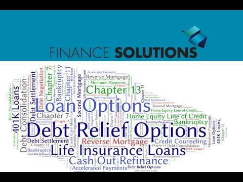 Finance Solutions - Selecting the Best Option for Debt Relief