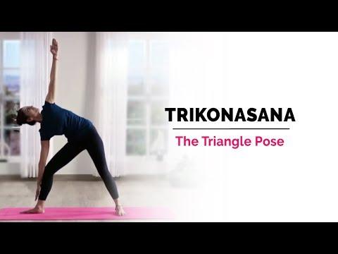 Trikonasana | Triangle Yoga Pose | Steps | Benefits | Yogic Fitness