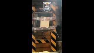 MPSS&GENI-AX Bullet Proof Plate Test