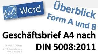 Word 2010 Geschäftsbrief Nach Din 5008 Softwareanleitungen
