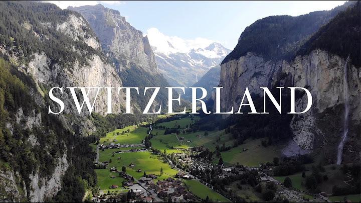 Switzerland in 4K