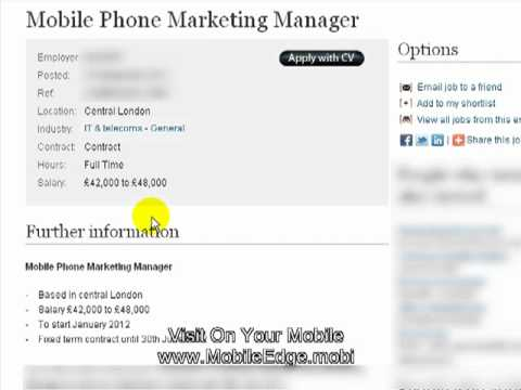 Mobile Phone Marketing Manager Mobile Advertising For Leicester Businesses