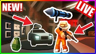 HUGE Jailbreak UPDATE!!! BADCC LEAKED NEW FEATURE! | Roblox Jailbreak Live