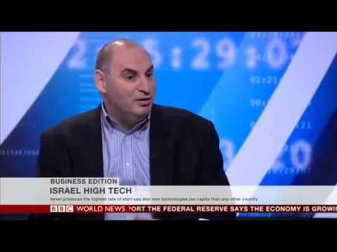 Amit Shafrir interviewed by BBC World - Innovate Israel 4th Dec 2013