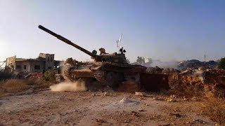 Rebel fighters enter beseiged Syrian town of Fuaa