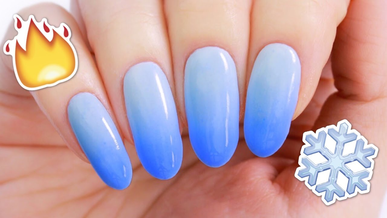 DIY Color Changing Nail Polish! - YouTube