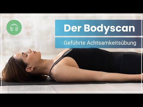 Bodyscan für mehr Achtsamkeit - 10 Minuten geführte Meditation 🌔