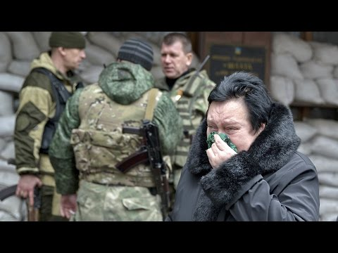 Eastern Ukraine Mine Hit by Explosion