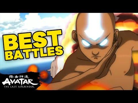 Top 10 Best Battles! 💥 Avatar: The Last Airbender | NickRewind