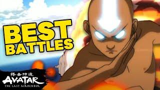 Top 10 Best Battles in Avatar: The Last Airbender! 💥| Avatar