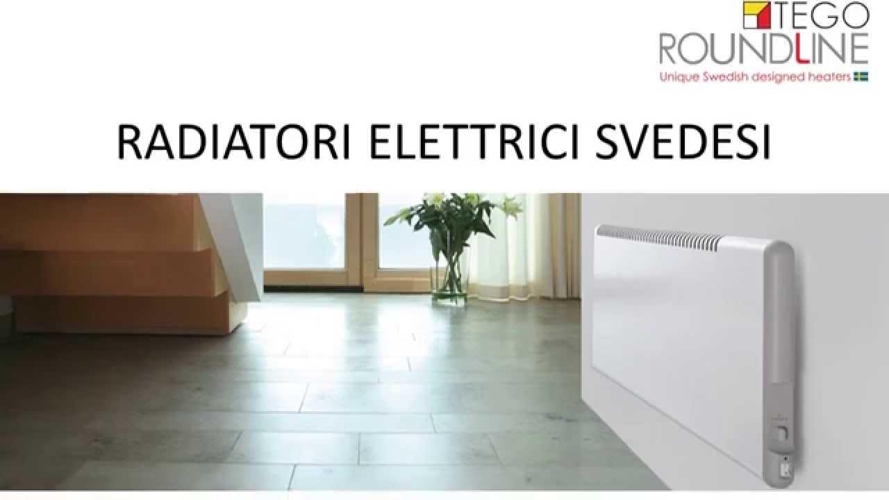 radiatori elettrici svedesi tego roundline youtube