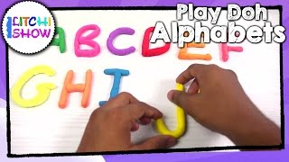 Learn ALPHABETS with Play Doh for Kids |Learn Alphabets for toddlers | Videos for Kids | Litchi Show