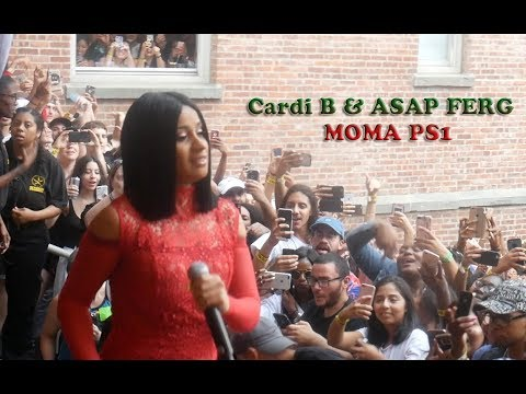 Cardi B And ASAP Ferg Performance Moma Ps1 Vlog | DGlo