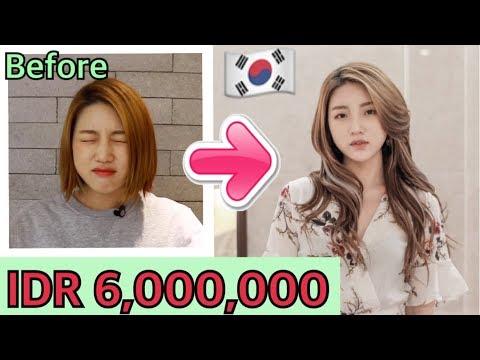 Aku Pake Hair Extensions Yg Biasa Para Artis Pergi Di Korea Youtube
