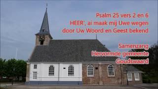 Psalm 25 vers 2 en 6 - Goudswaard
