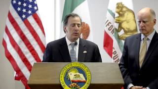 Gov. Jerry Brown talks about Central American immigrants