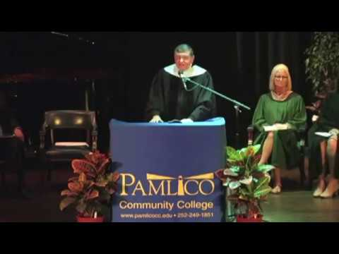 Pamlico Community College Commencement 2017, part 1