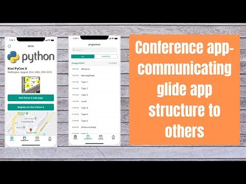 Conference App Communicating Glide App Structure To Others
