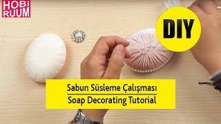 Sabun Süsleme Çalışması