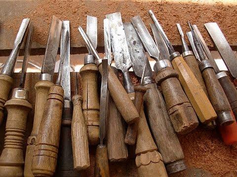 Como fabricar gubias para tallar madera youtube - Gubias para madera ...