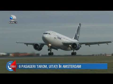 Stirile Kanal D (03.12.2017) - 6 pasageri TAROM, uitati in Amsterdam! Editie COMPLETA