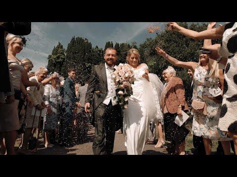 Beautiful Wedding at Brookfield Barn - Hannah & Michael's Highlights