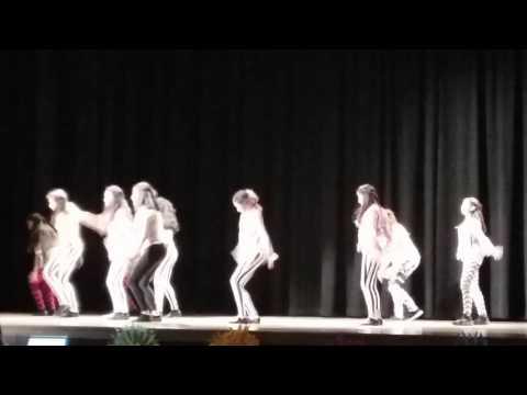 Belvedere middle school Dance Team 2017