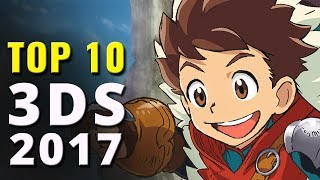 Top 10 Nintendo 3DS Games of 2017