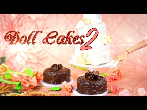 DIY - How to Make Doll Cakes 2 - Handmade - Doll - Crafts