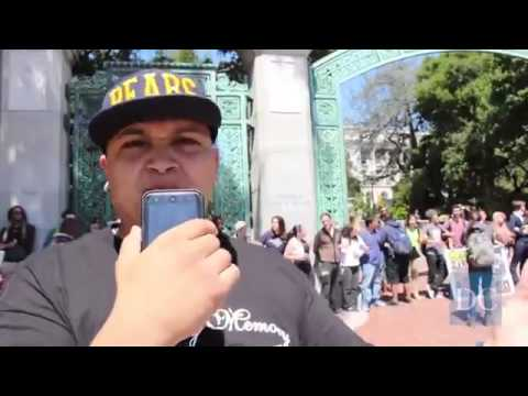 Students Block Sather Gate To Protest Police Brutality - Funny Videos