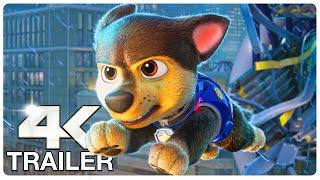 PAW PATROL The Movie : 4 Minute Trailers (4K ULTRA HD) NEW 2021