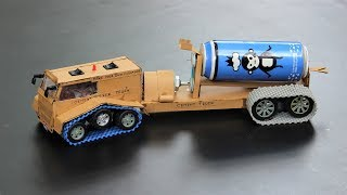 How to make a truck - cement mixer truck