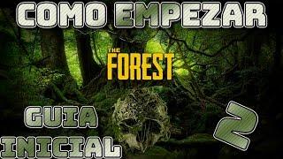 The Forest - Lugares para construir nuestra base | Guía Inicial  | Español