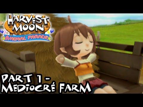 Harvest Moon: Animal Parade [Part 1 - Mediocré Farm]