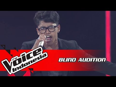 Panca - Crazy Little Thing Called Love | Blind Auditions | The Voice Indonesia GTV 2018