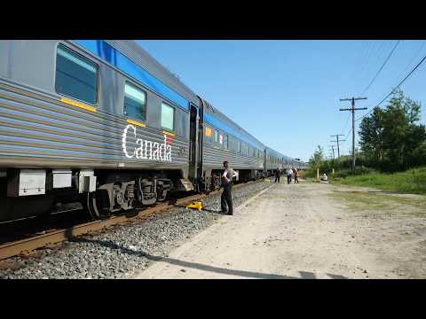 07/14/2017 Riding VIA The Canadian - Toronto to Edmonton Part 1